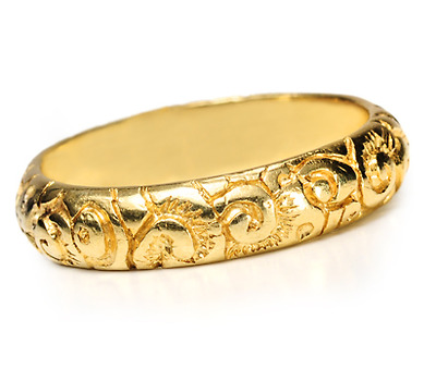 Georgian Ornate Eternity Ring