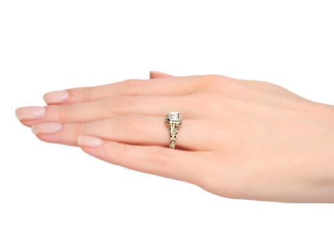 Art Deco Solitaire Diamond Ring