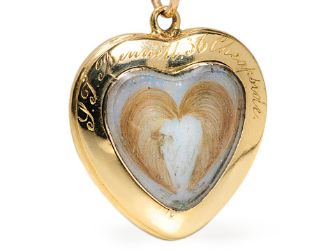 Heart Within a Heart: Pendant with Locket Back