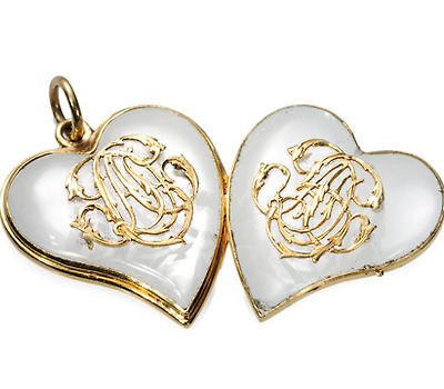 Victorian Witch's Heart Locket