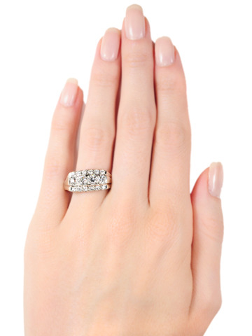 Three Times the Lady: Diamond Ring