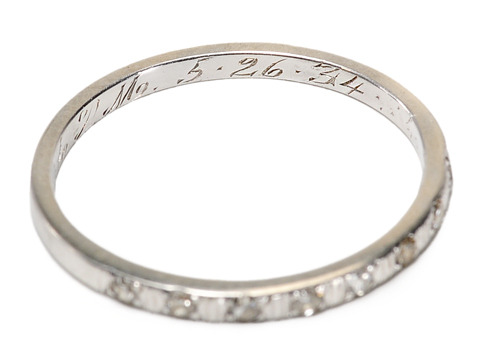 A Simple Diamond Eternity Ring