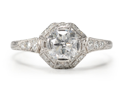 Utter Enchantment in an Antique Diamond Ring