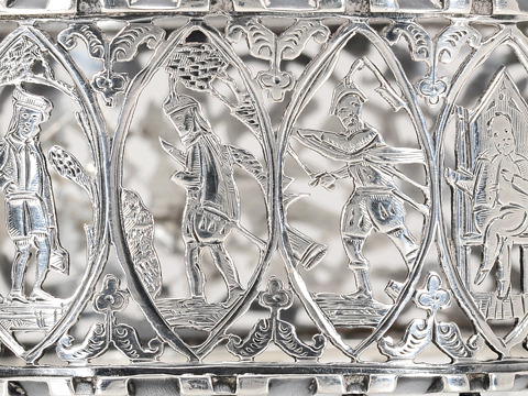 Seven Ages of Man Sterling Bangle