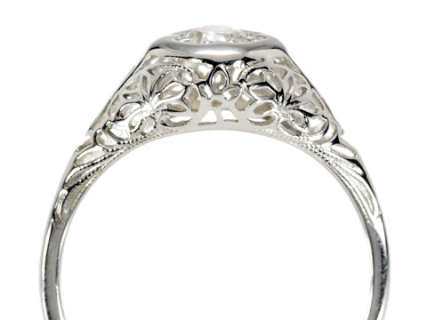 Forever More: Art Deco Diamond Ring