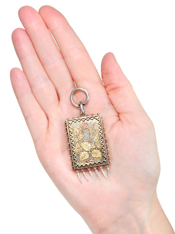Victorian Aesthetic Period Locket Pendant