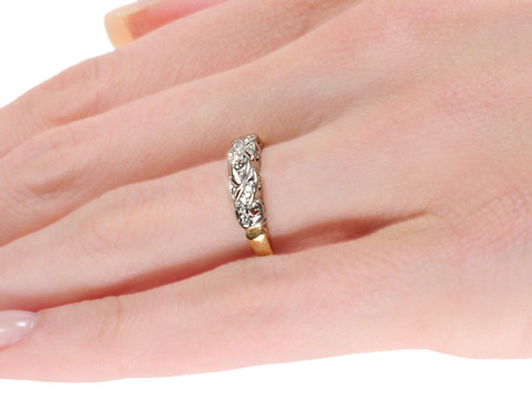 Celebrate: Diamond Set Wedding Band