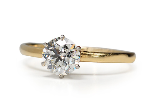 Tiffany & Co. Mount with Solitaire Diamond