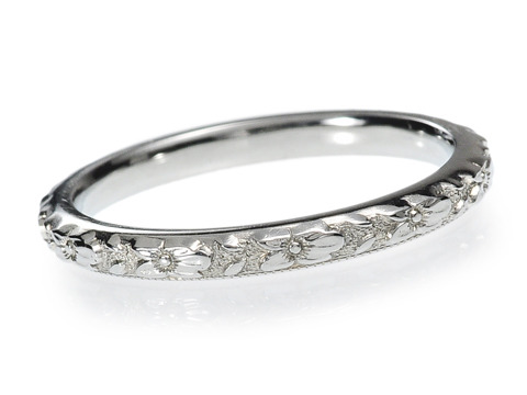 20th C. Eternity in a Wedding Band