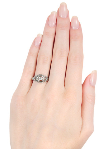 Beautiful Solitaire Diamond Ring