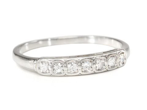 Signed Jabel Diamond Eternity Ring