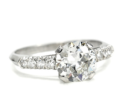 Brilliance in a 1.25 carat Diamond Engagement Ring