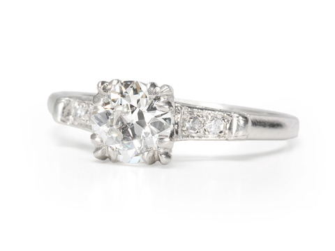 Diamond Beauty in an Art Deco Platinum Ring