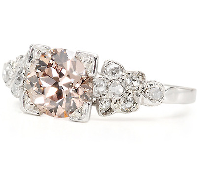 Early 20th C. Wonder: Pink Diamond Ring
