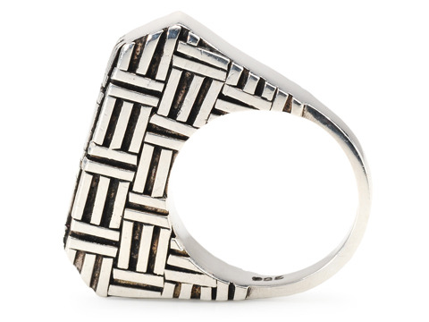 Art as Jewelry: Sterling Silver Ring