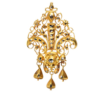 Divine Spanish 18th C. Diamond Pendant
