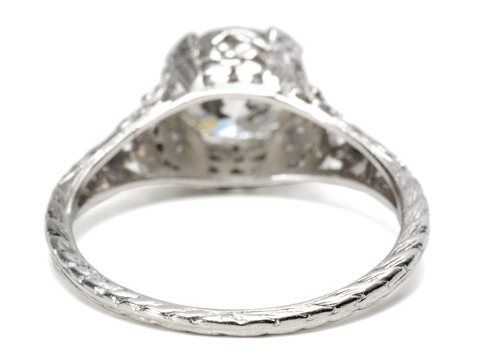 Impressive Vintage Diamond Solitaire Ring