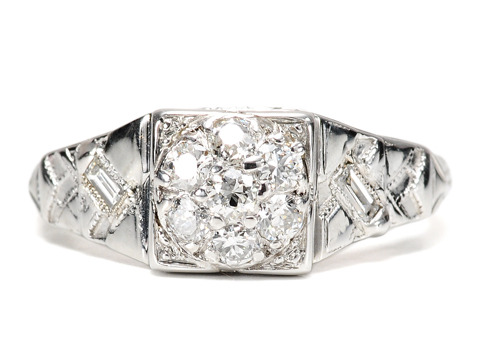 1935: A Very Good Year for a Diamond Ring