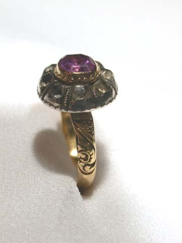 Amethyst Late 17th Century Ring