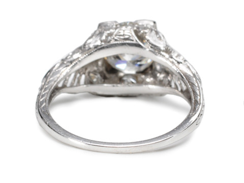 Save! Edwardian Sigh: 1.15 ct Diamond Ring