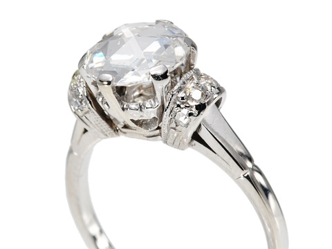 Dreams Realized: Fabulous 1.17 c Diamond Ring