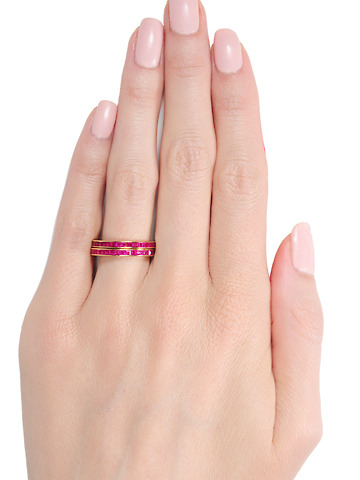 Secret Revealed: Matching Ruby Set Bands