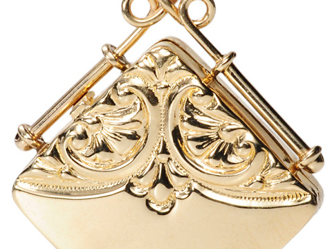 Sentimental Edwardian Double Box Locket