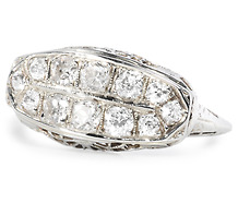 Big Blast in an Art Deco Diamond Ring