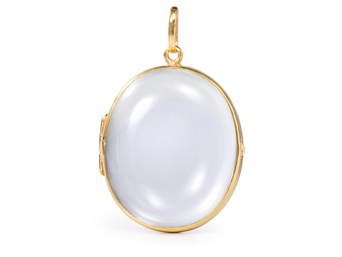 See Clearly: Edwardian Large Glass Locket