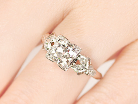 The One True Ring - Diamond Engagement Ring