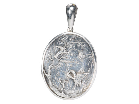 Victorian Tweet: Aesthetic Period Locket