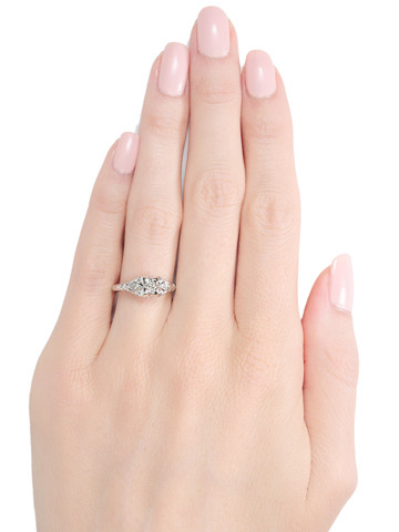 Perfection: Diamond Engagement Ring