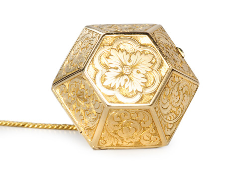Magnificent Antique Vinaigrette Pendant