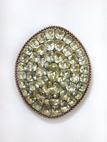 Portuguese 18th C. Chrysoberyl Jewel