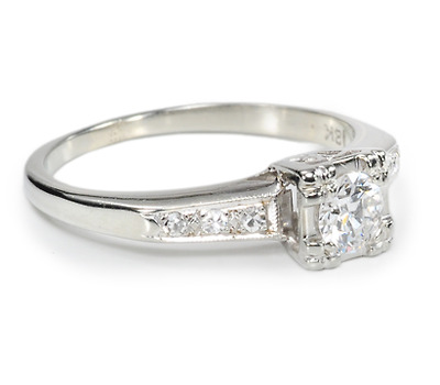Say Yes! Vintage Diamond Ring