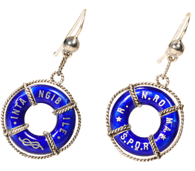 The Ship Sails On - Symbolic Earrings
