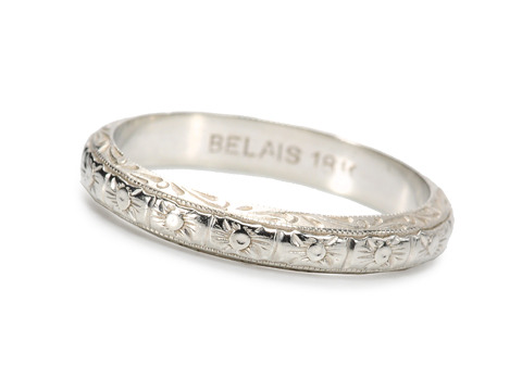 Signed Belais Bros. Wedding Band