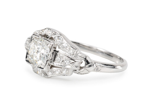 Tradition: Diamond Platinum Engagement Ring