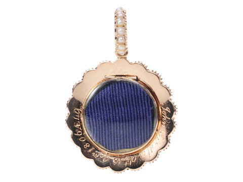 Time Immemorial - Lover's Eye Pearl Pendant