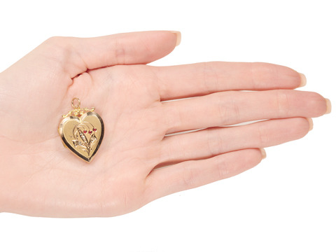 Locket Love: Edwardian Heart Locket
