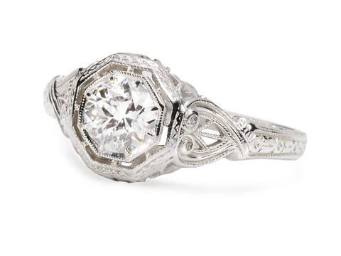 Imagine: Solitaire Diamond Engagement Ring