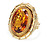 Magnificent Citrine Dinner Ring
