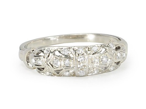 Perfection: Diamond Studded Band
