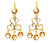 Sway: Classic Victorian Diamond Drop Earrings