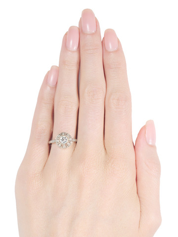 Pure Ecstasy: Edwardian Diamond Dome Ring