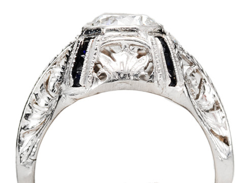 E For Electrifying - Diamond Engagement Ring