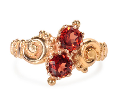 Victorian Sweet in a Garnet Ring