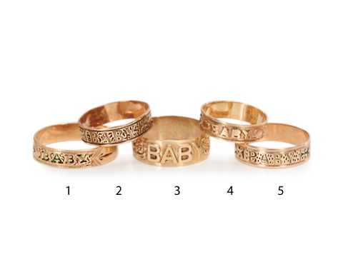 Did You Say Baby Baby Rings?