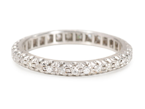 Diamond Divinity: Full Eternity Band