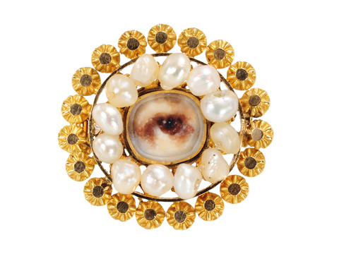 For Your Eyes Only: Lover's Eye Brooch